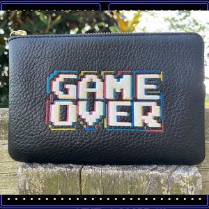 Used, Coach Game Over Arcade Wristlet Mrs Pac-Man WalletNWT for sale